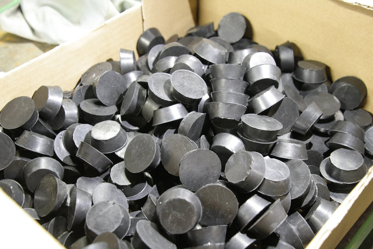 produzione antivibranti e ammortizzatori industriali in gomma